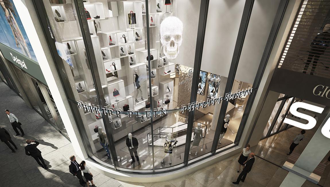 AQUILIALBERG_PHILIPP PLEIN Dusseldorf store 02