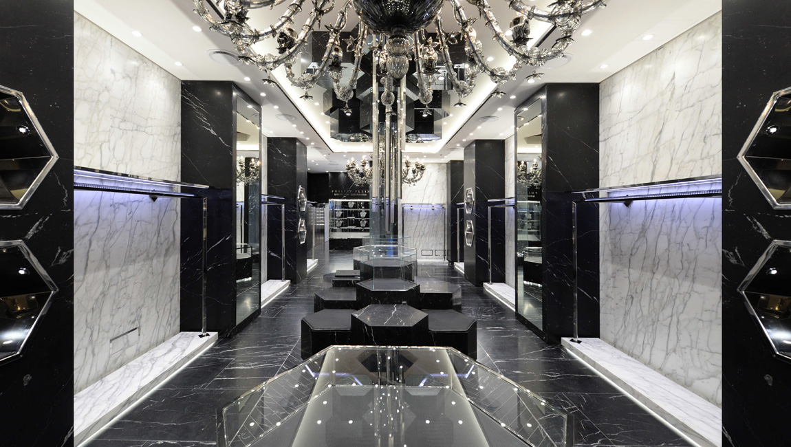 AQUILIALBERG_PHILIPP PLEIN Milan Montenapoleone store 01