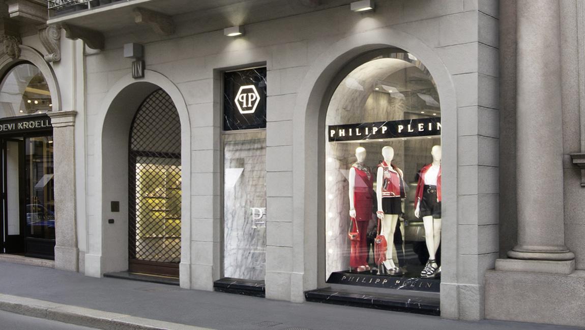 AQUILIALBERG_PHILIPP PLEIN Milan Montenapoleone store 03