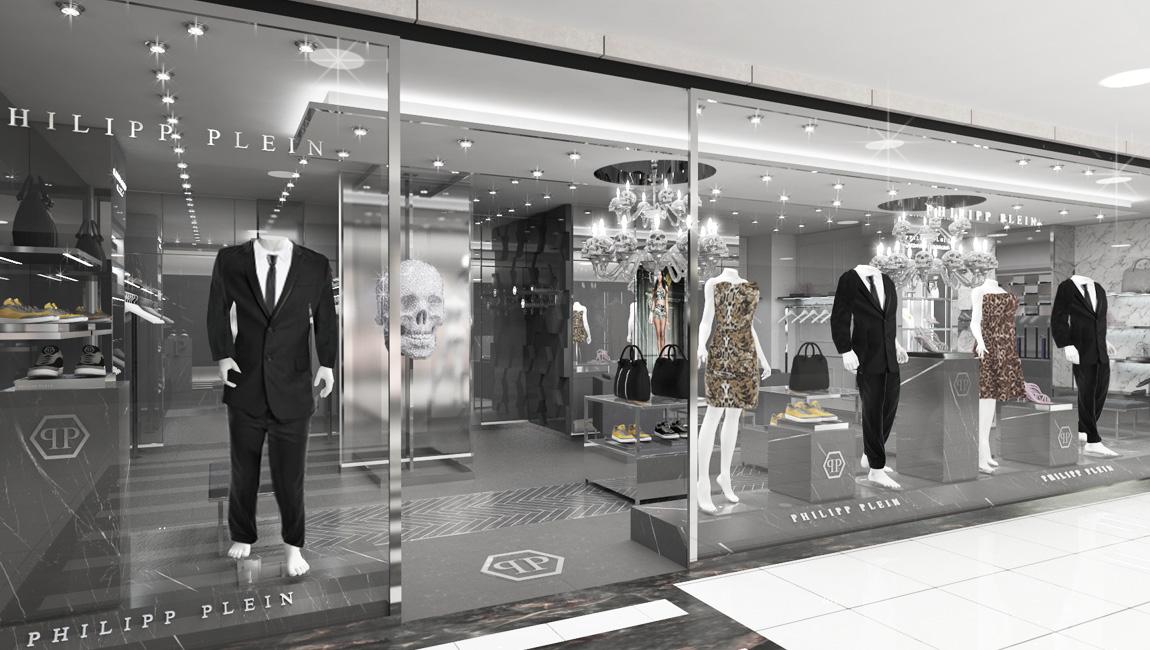 AQUILIALBERG_PHILIPP PLEIN Seul shop in shop 02