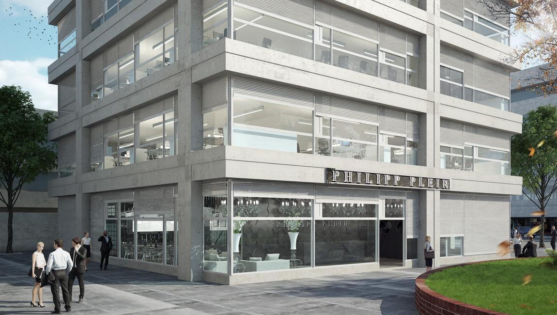 AQUILIALBERG_Philipp Plein headquarter - Lugano 01